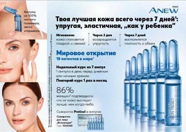 Женский секрет - сыворотка Protinol